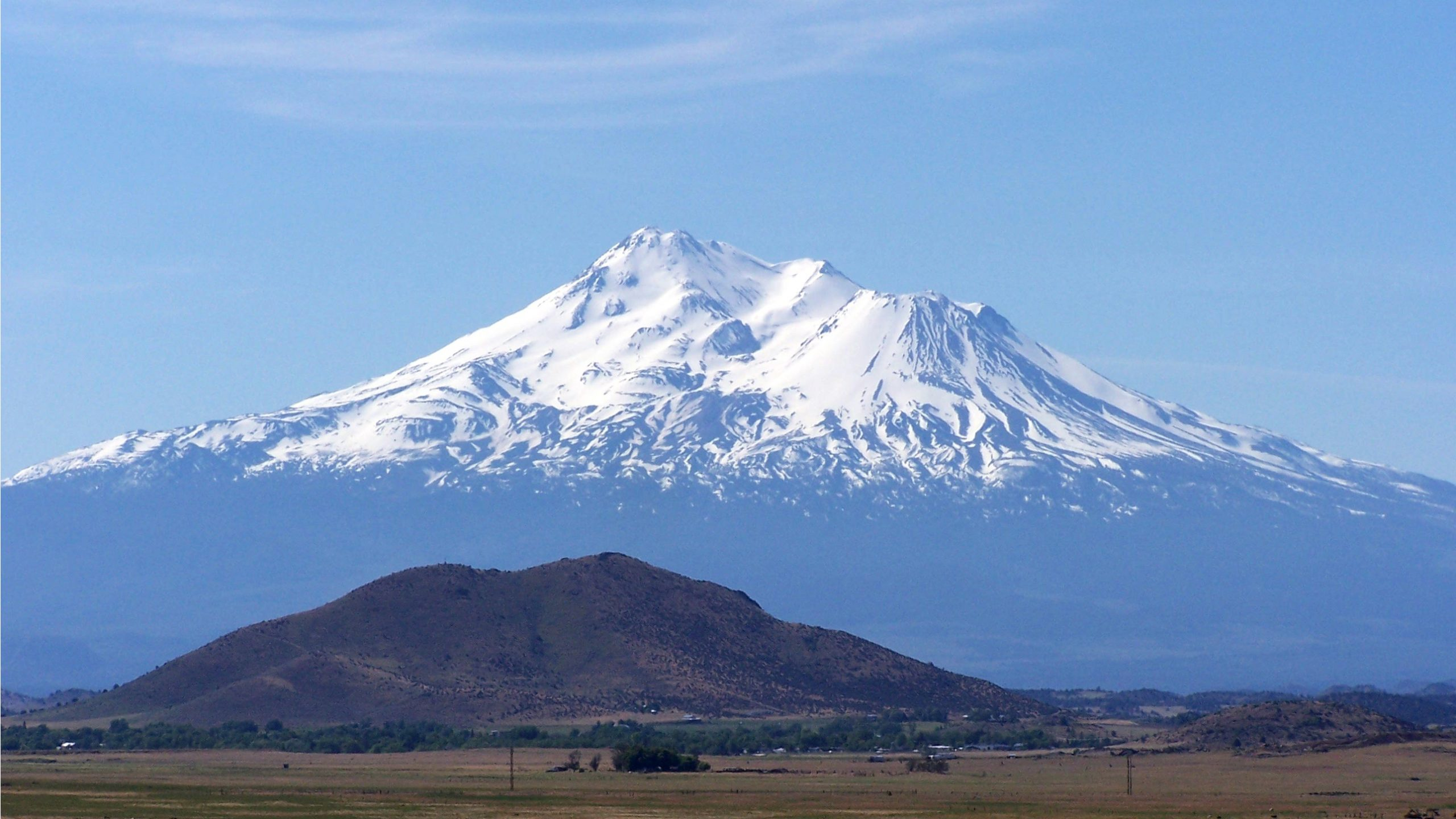 Life Itself - Snow capped view of Mount Shasta