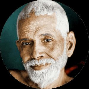 ramana maharshi gangaji lineage closeup smiling color